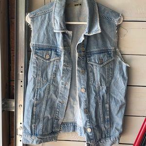 Topshop Jean Vest